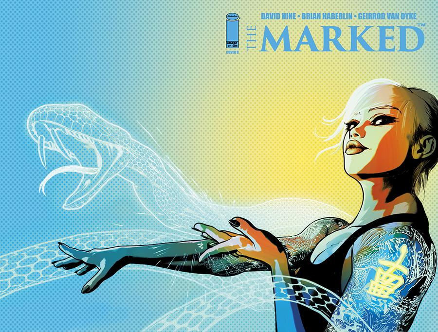 Marked #2 Cover B Variant Brian Haberlin & Geirrod Van Dyke Wraparound Cover