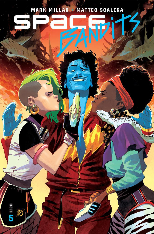 Space Bandits #5 Cover A Regular Matteo Scalera Color Cover