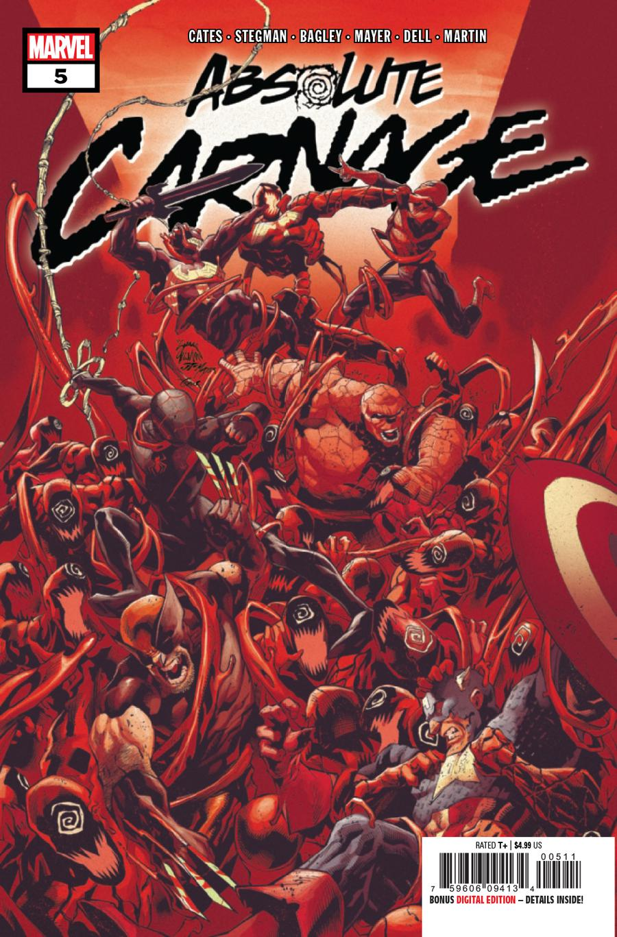 Absolute Carnage #5 Cover A Regular Ryan Stegman Cover