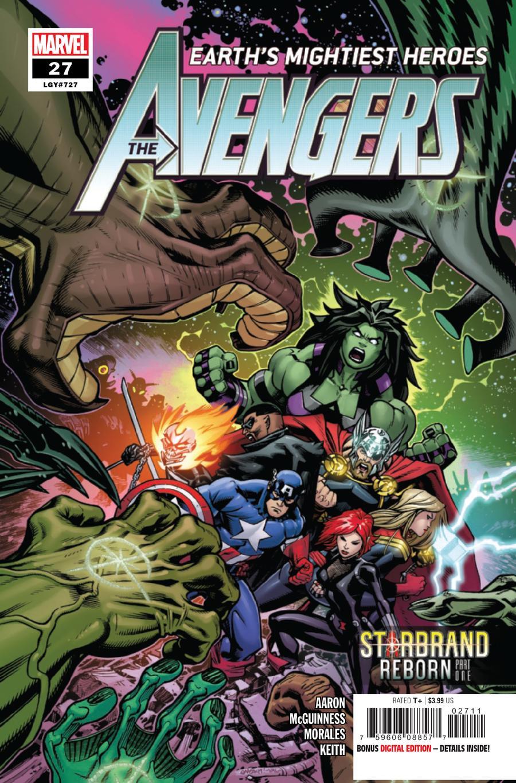 Avengers Vol 7 #27 Cover A Regular Ed McGuinness Cover