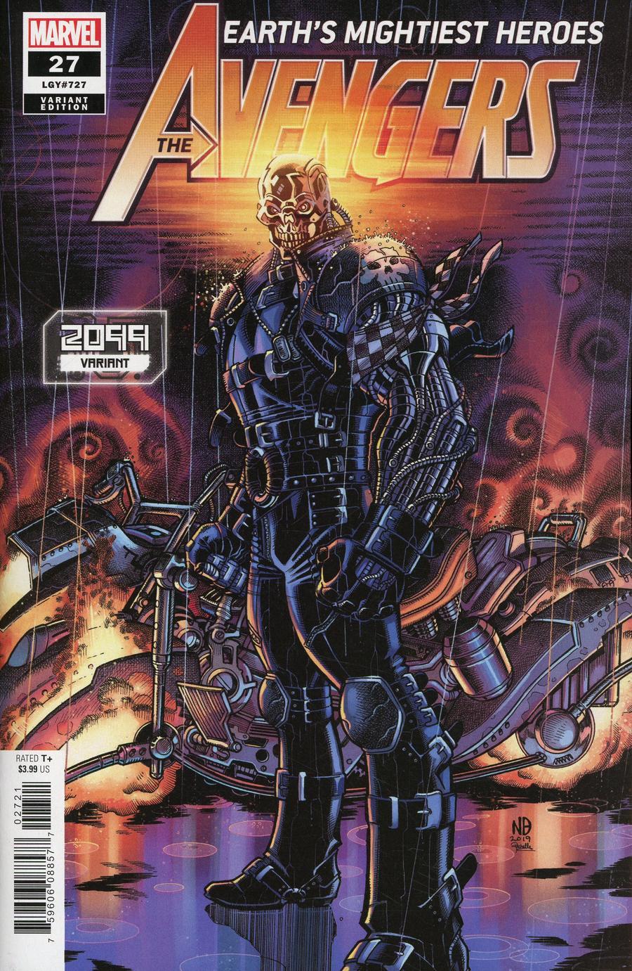Avengers Vol 7 #27 Cover B Variant Nick Bradshaw 2099 Cover