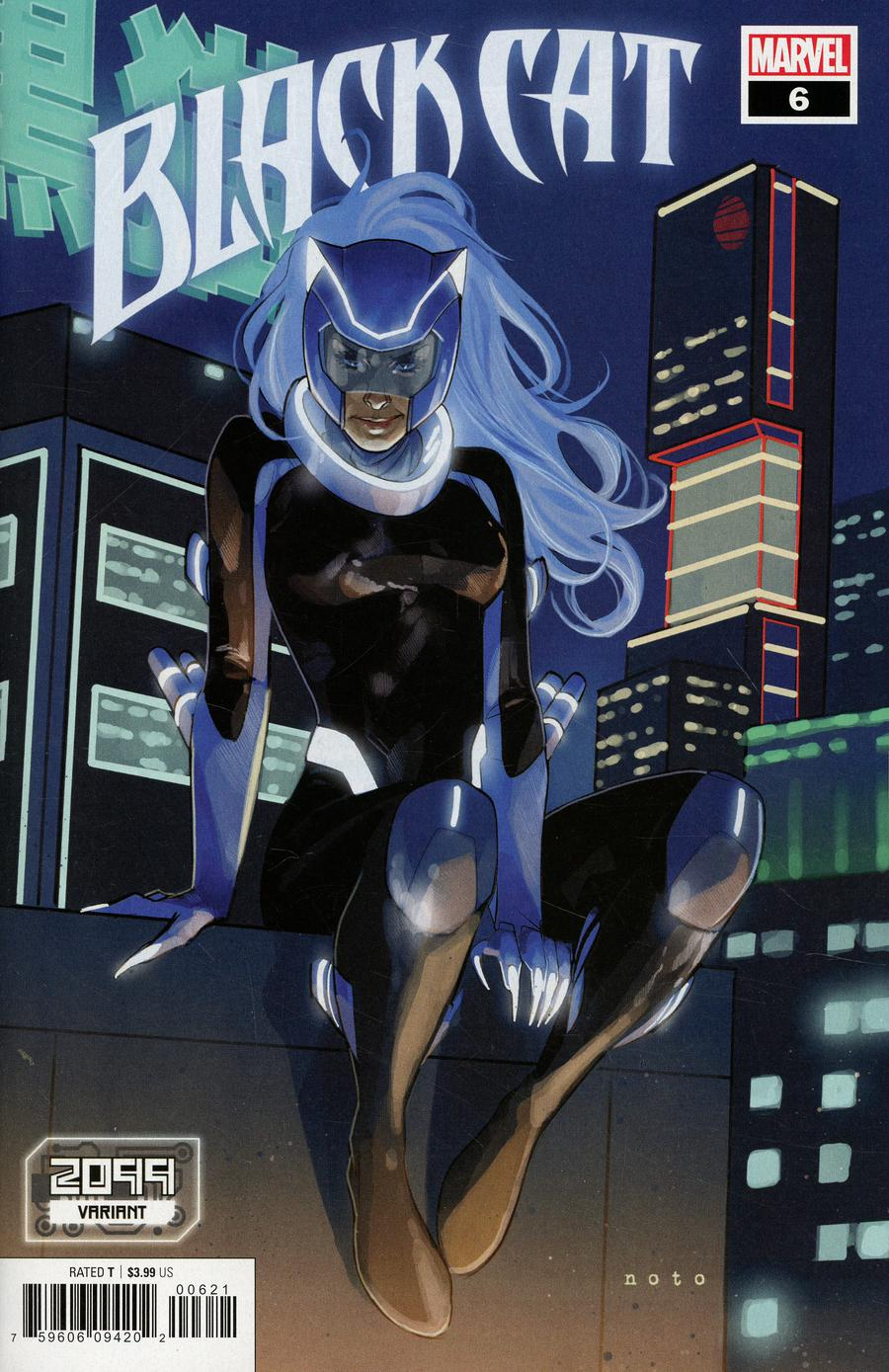 Black Cat #6 Cover B Variant Phil Noto 2099 Cover