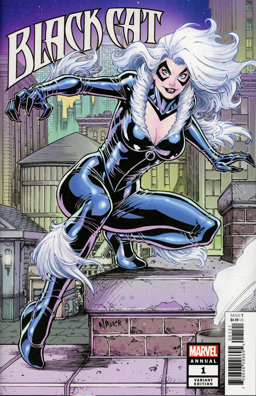 Black Cat Annual #1 Cover B Variant Todd Nauck Cover