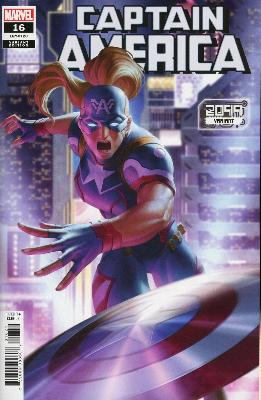Captain America Vol 9 #16 Cover B Variant Junggeun Yoon 2099 Cover