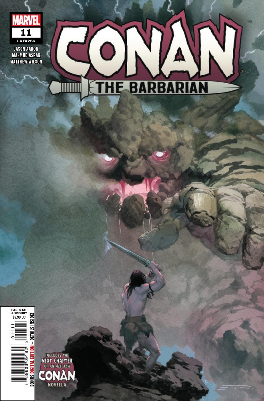 Conan The Barbarian Vol 4 #11 Cover A Regular Esad Ribic Cover