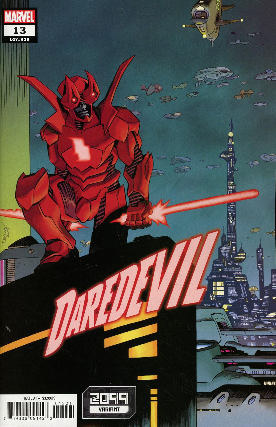 Daredevil Vol 6 #13 Cover B Variant Declan Shalvey 2099 Cover