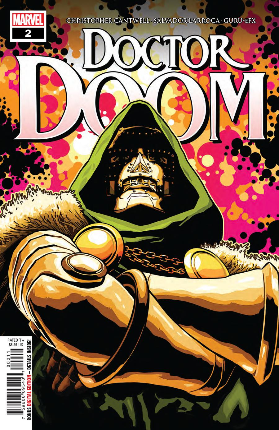 Doctor Doom #2 Cover A 1st Ptg Regular Aco Cover