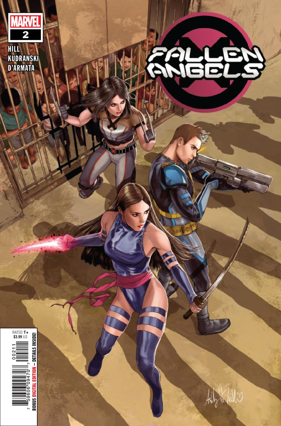 Fallen Angels Vol 2 #2 Cover A 1st Ptg Regular Ashley Witter Cover (Dawn Of X Tie-In)