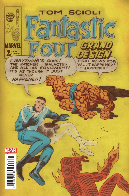 Fantastic Four Grand Design #2 Cover A Regular Tom Scioli Cover