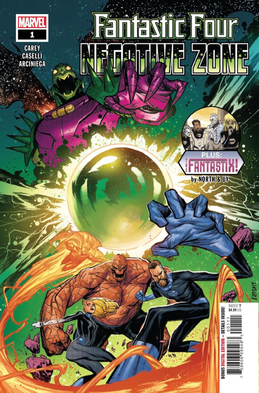 Fantastic Four Negative Zone #1 Cover A Regular Kim Jacinto Cover