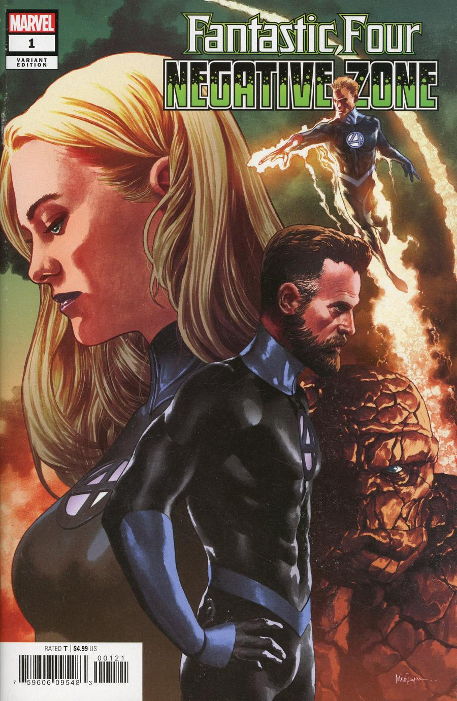Fantastic Four Negative Zone #1 Cover B Variant Mico Suayan Cover