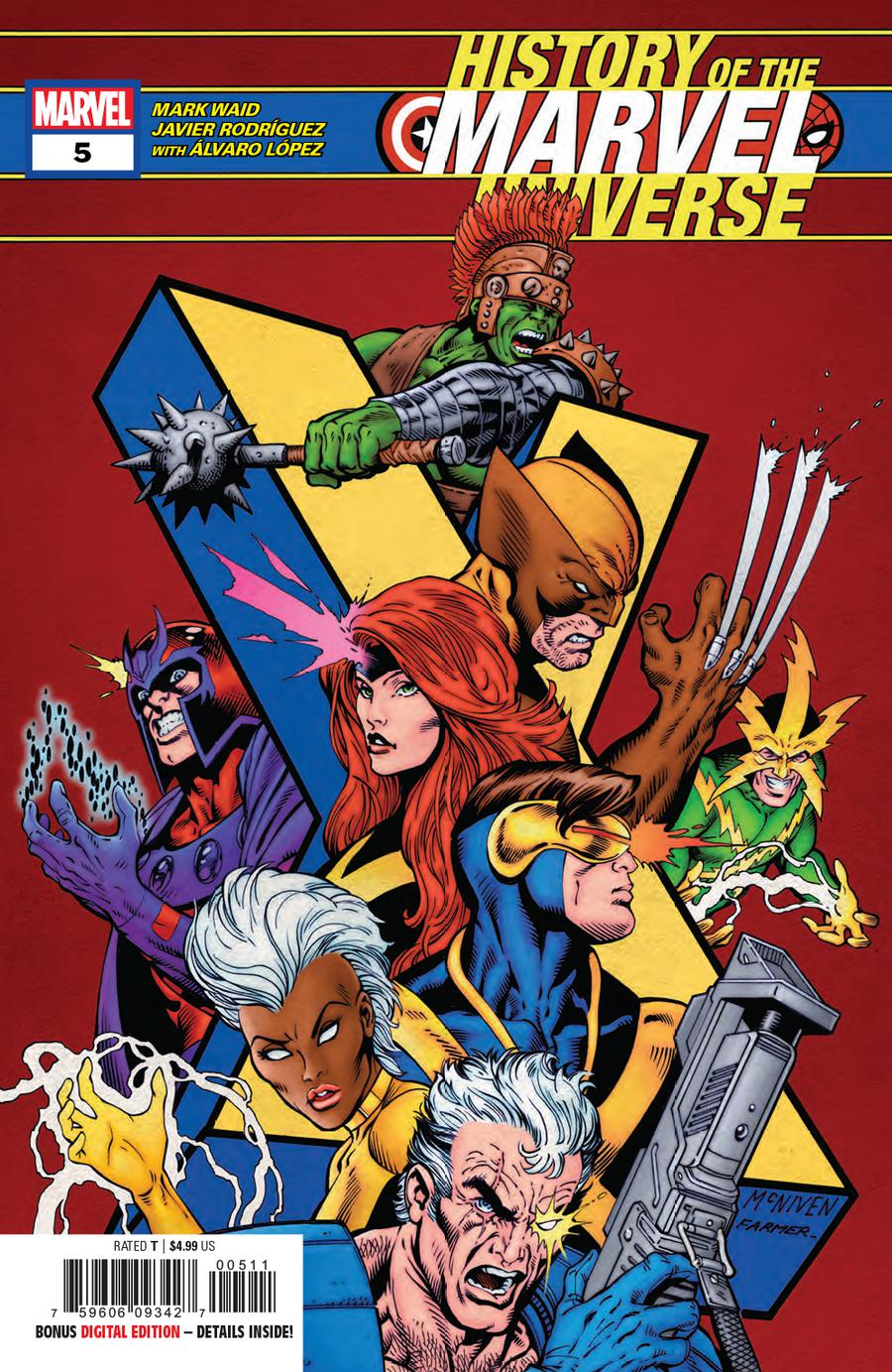 History Of The Marvel Universe #5 Cover A Regular Steve McNiven Cover