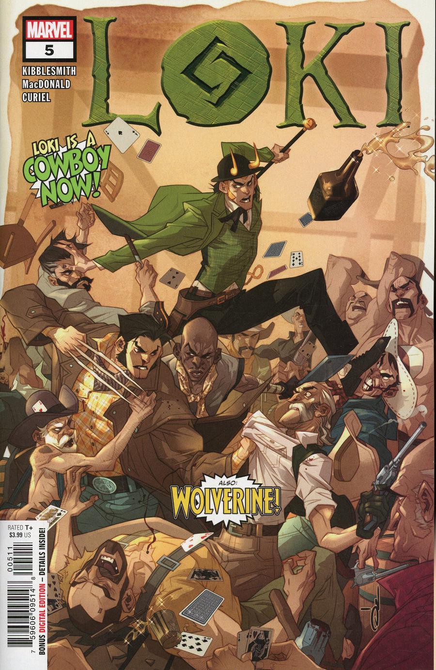 Loki Vol 3 #5 Cover A Regular Ozgur Yildirim Cover