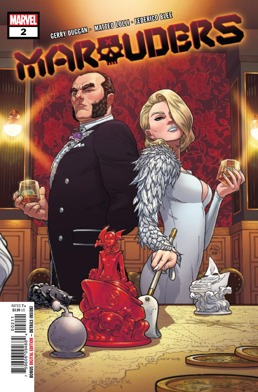 Marauders #2 Cover A 1st Ptg Regular Russell Dauterman Cover (Dawn Of X Tie-In)