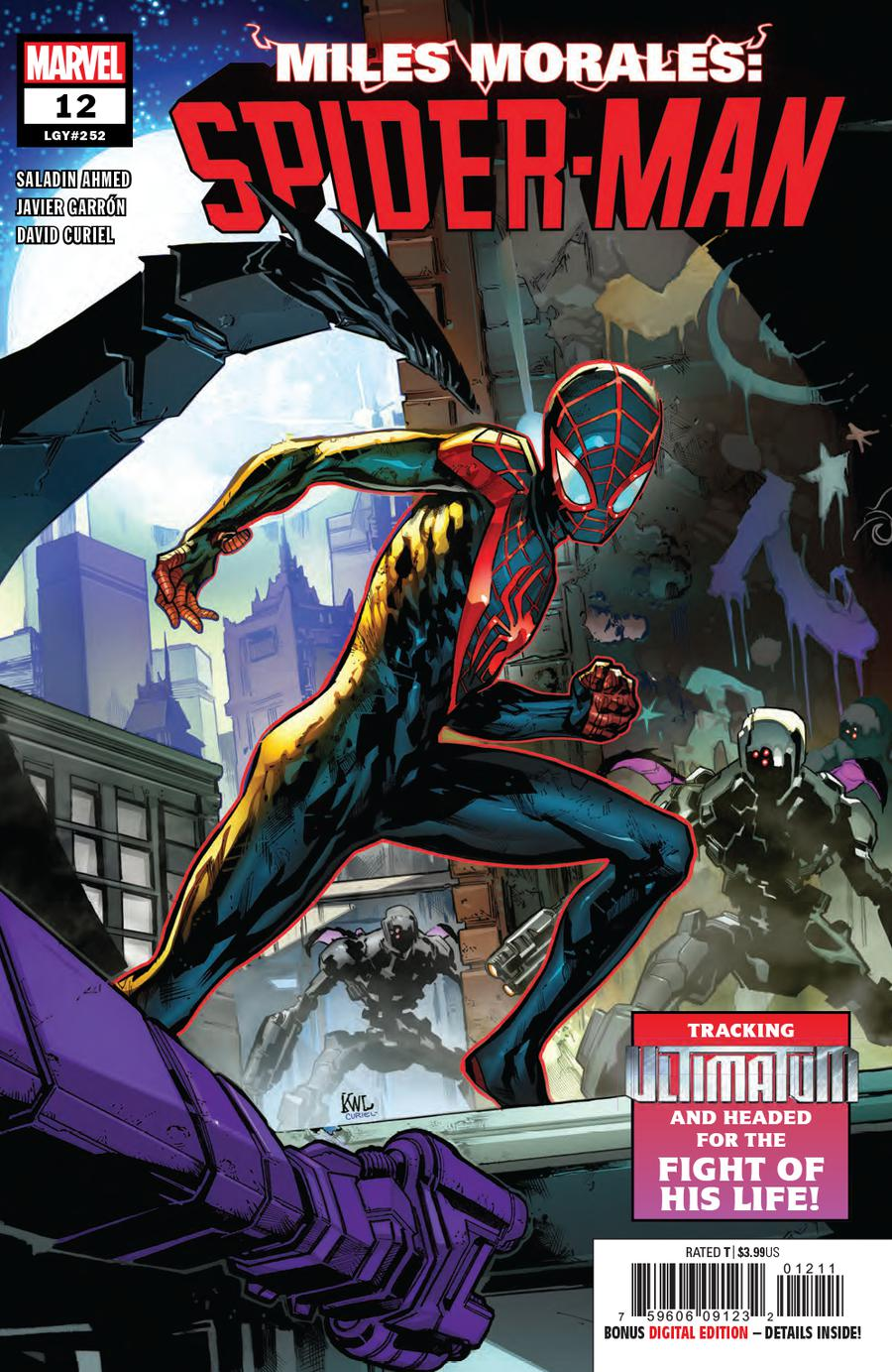 Miles Morales Spider-Man #12 Cover A Regular Ken Lashley Cover