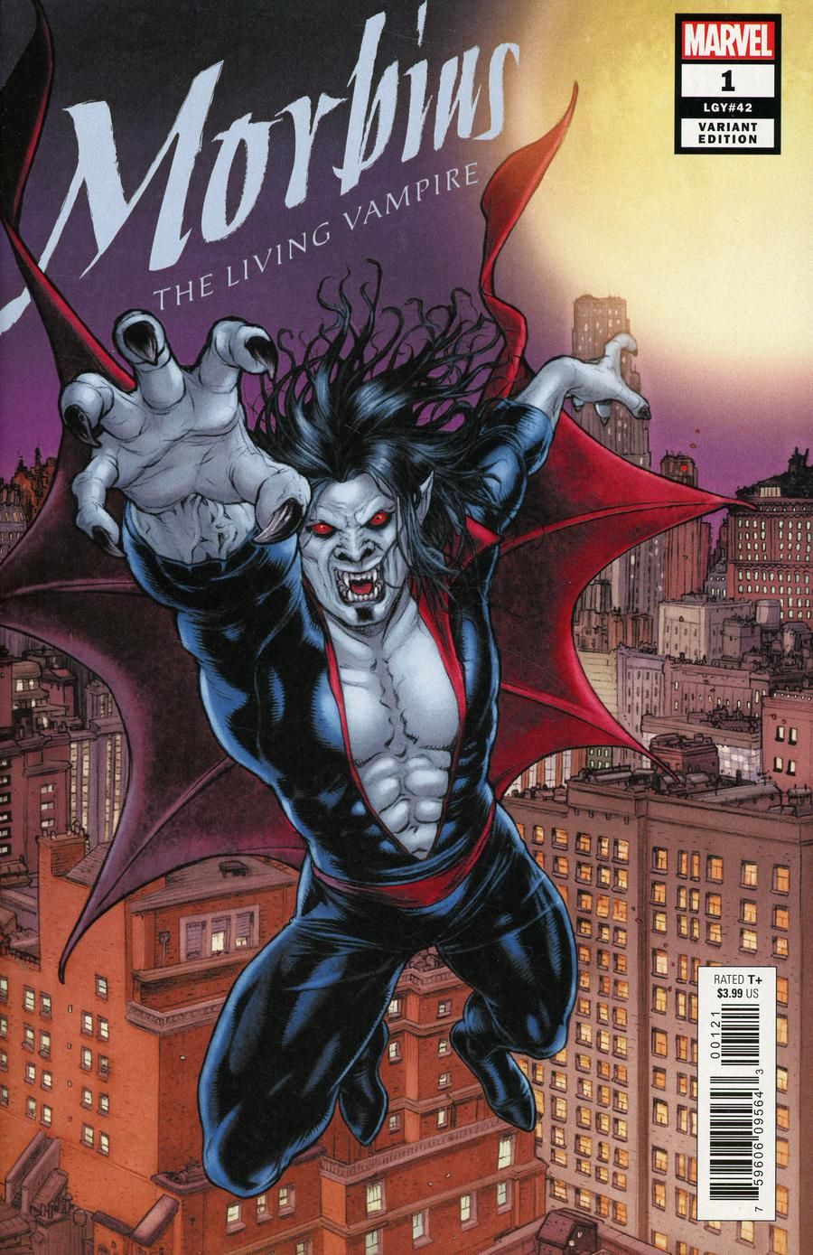 Morbius #1 Cover B Variant Juan Jose Ryp Connecting Cover