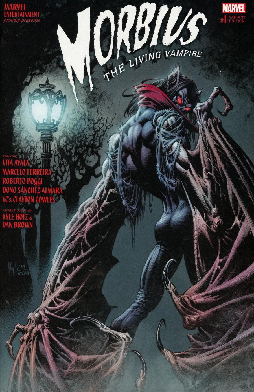 Morbius #1 Cover C Variant Kyle Hotz Cover