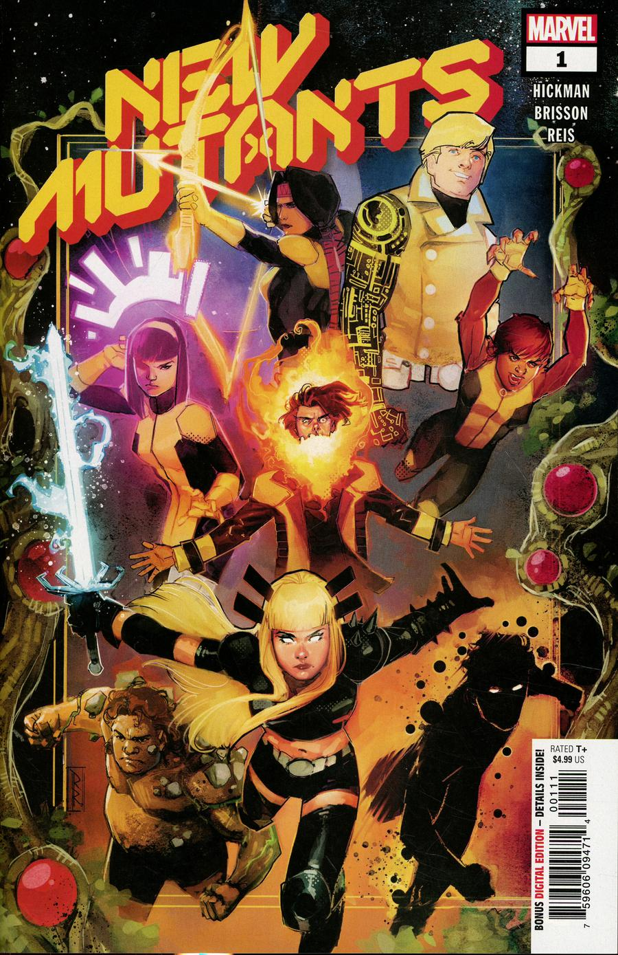 New Mutants Vol 4 #1 Cover A 1st Ptg Regular Rod Reis Cover (Dawn Of X Tie-In)