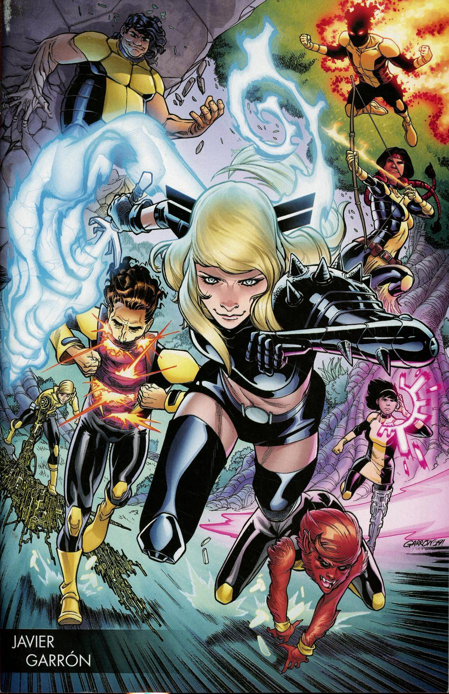 New Mutants Vol 4 #1 Cover B Variant Javier Garron Young Guns Cover (Dawn Of X Tie-In)