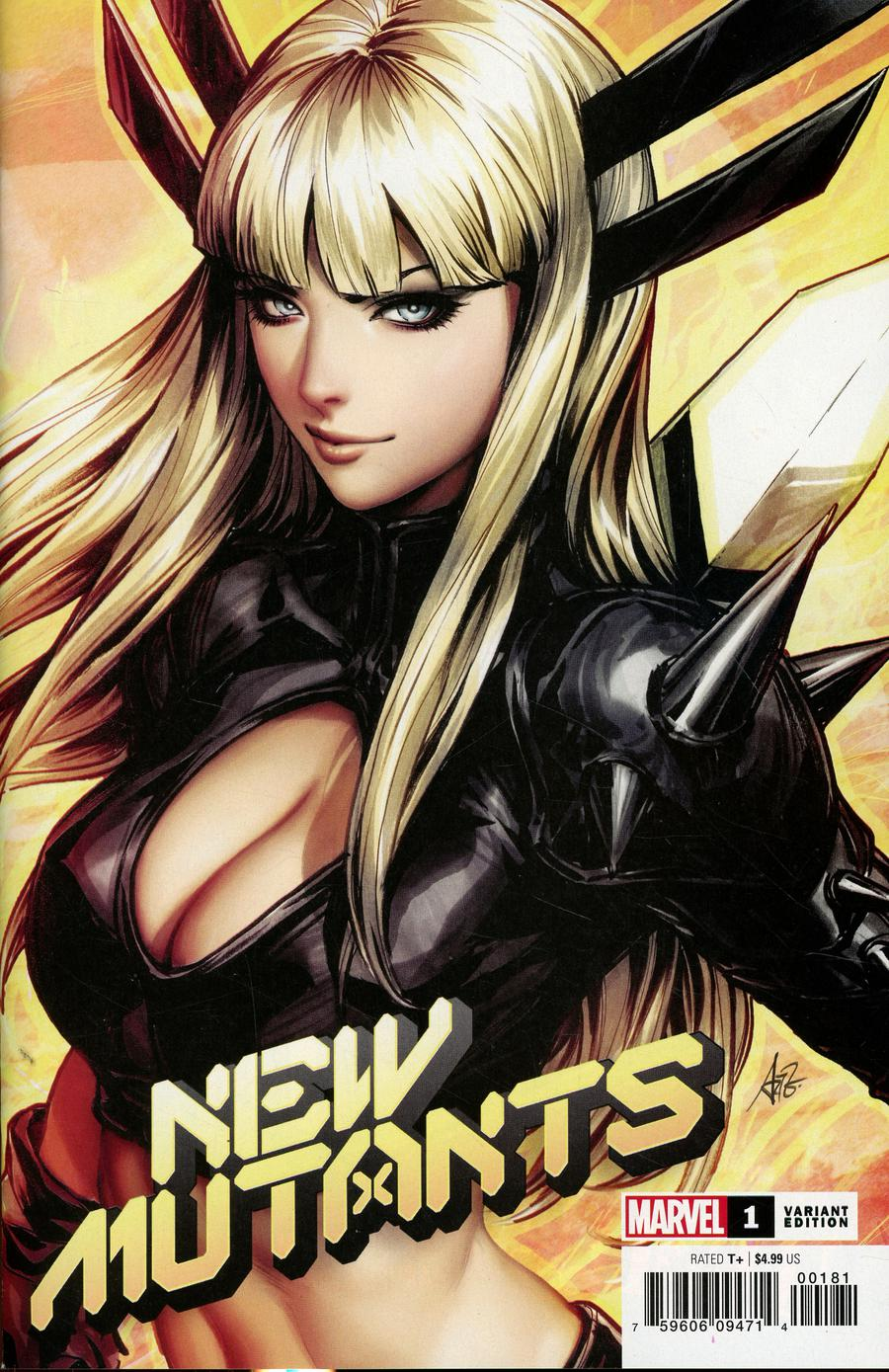 New Mutants Vol 4 #1 Cover D Variant Stanley Artgerm Lau Cover (Dawn Of X Tie-In)