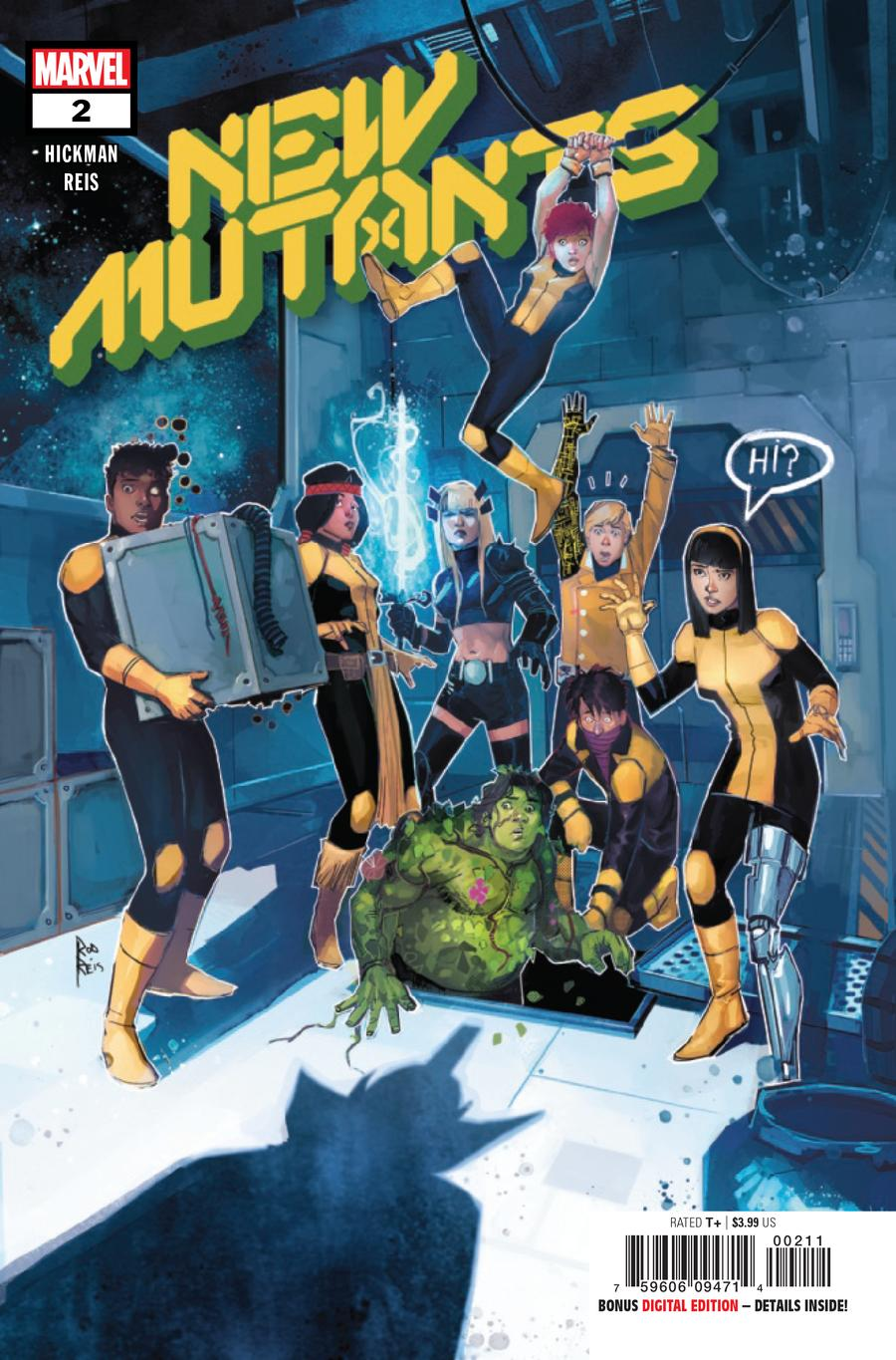 New Mutants Vol 4 #2 Cover A 1st Ptg Regular Rod Reis Cover (Dawn Of X Tie-In)