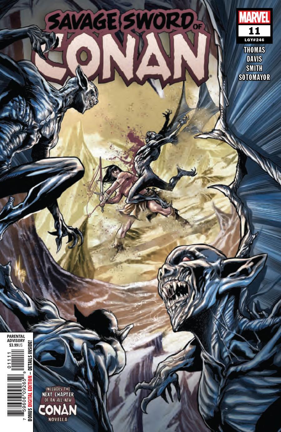 Savage Sword Of Conan #11 Cover A Regular Marco Checchetto Cover