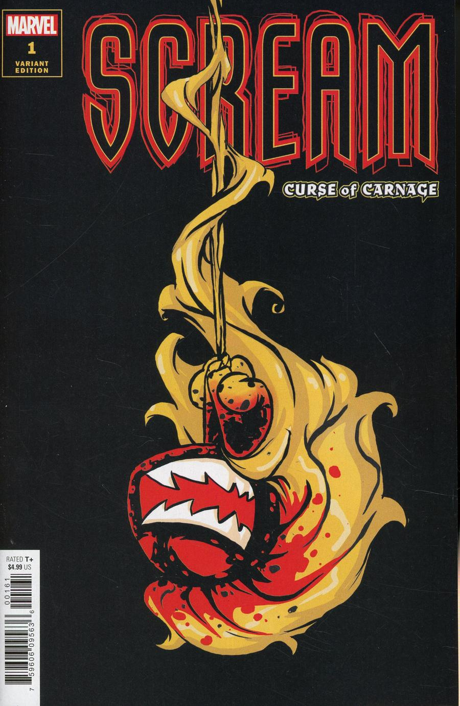 Scream Curse Of Carnage #1 Cover C Variant Skottie Young Cover (Absolute Carnage Tie-In)