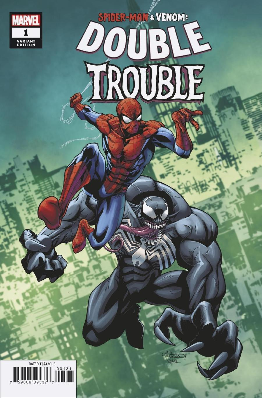 Spider-Man Venom Double Trouble #1 Cover B Variant Logan Lubera Cover