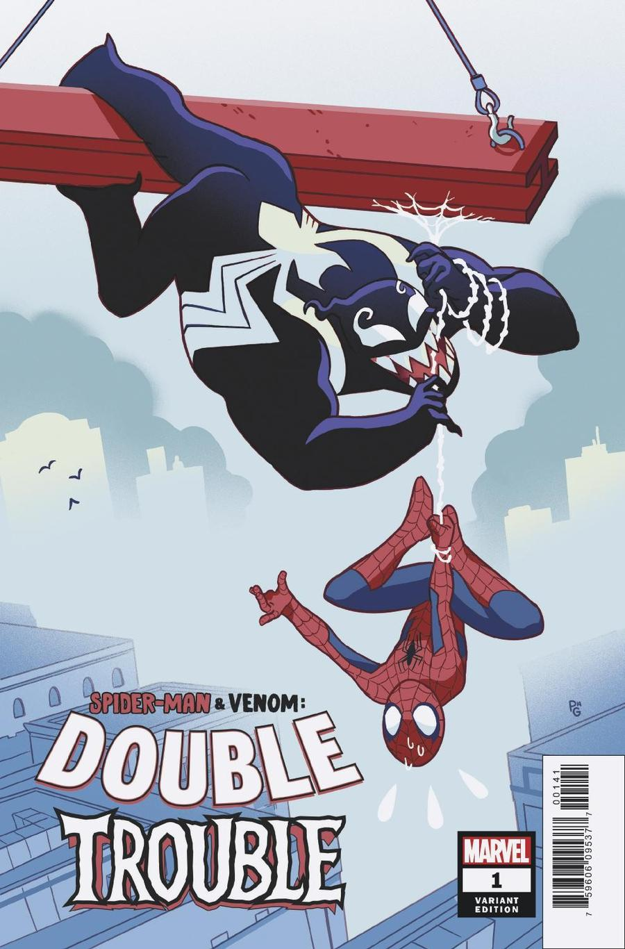 Spider-Man Venom Double Trouble #1 Cover C Variant Paulina Ganucheau Cover