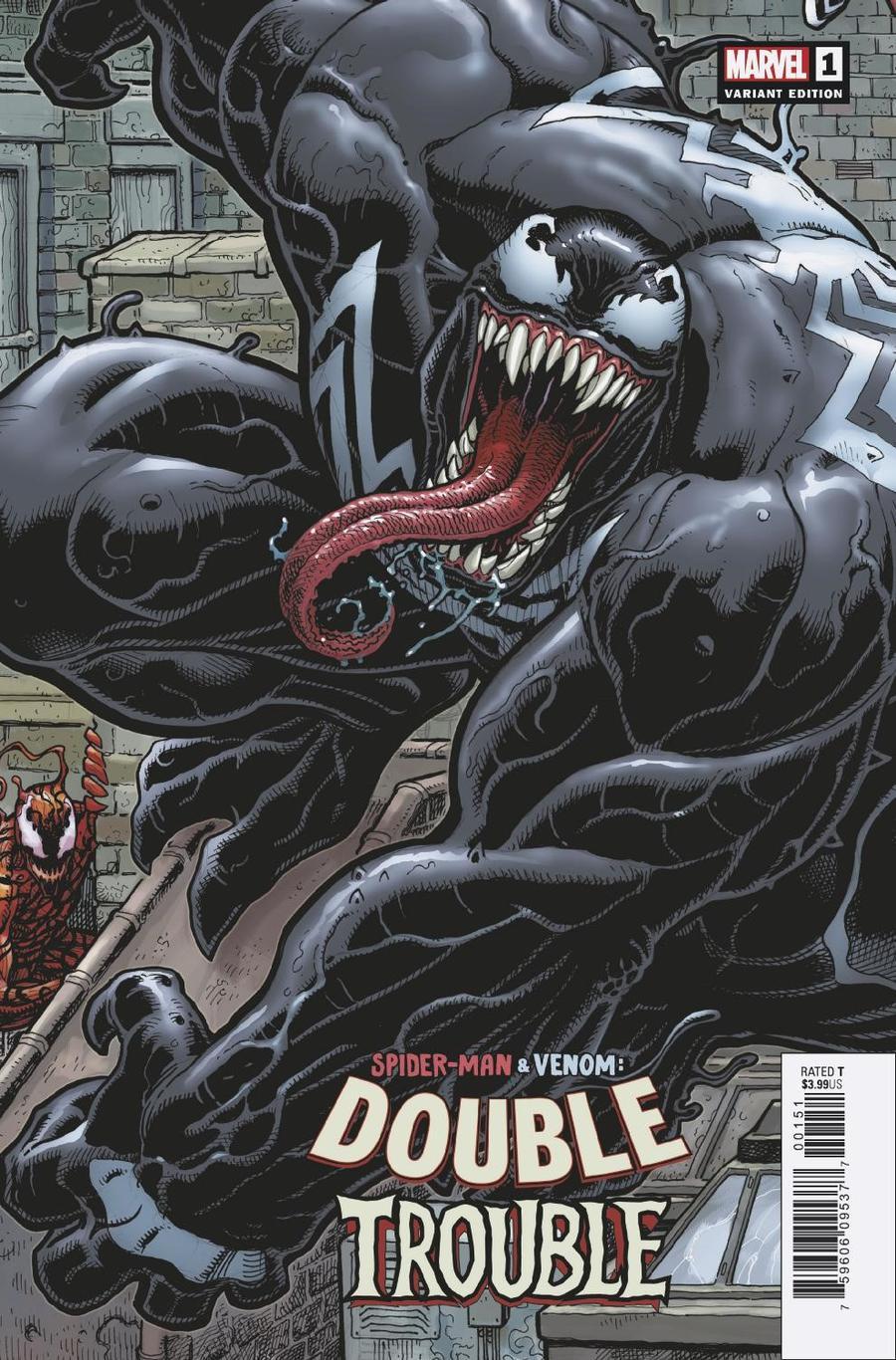 Spider-Man Venom Double Trouble #1 Cover D Variant Arthur Adams 8-Part Connecting E Cover