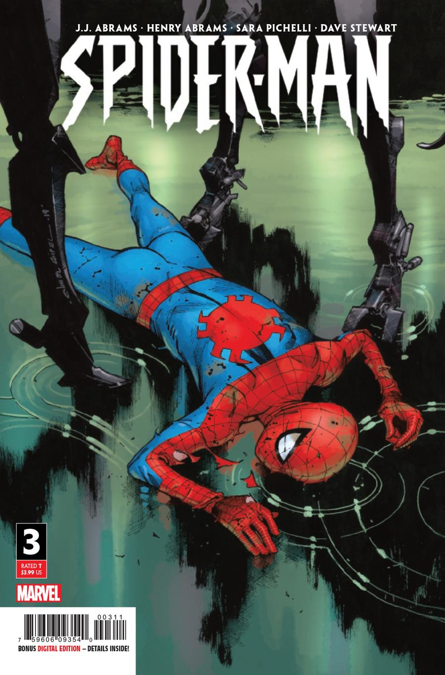Spider-Man Vol 3 #3 Cover A 1st Ptg Regular Olivier Coipel Cover