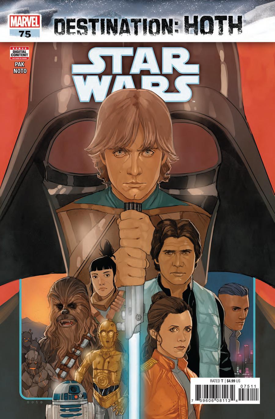 Star Wars Vol 4 #75 Cover A Regular Phil Noto Cover