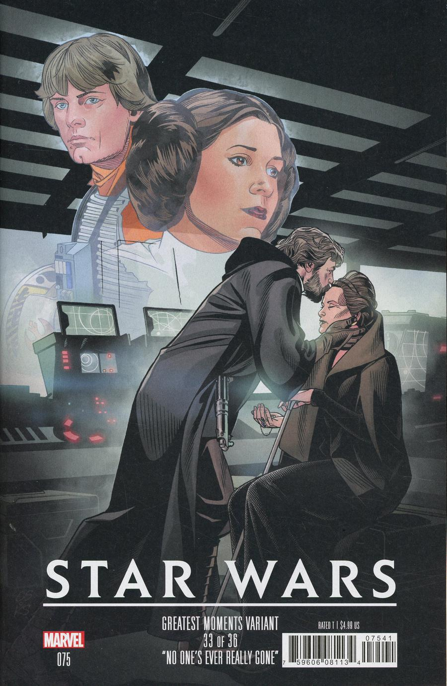 Star Wars Vol 4 #75 Cover D Variant Chris Sprouse Star Wars Greatest Moments Cover