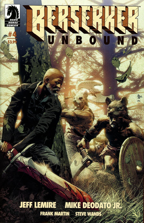 Berserker Unbound #4 Cover A Regular Mike Deodato Jr Cover
