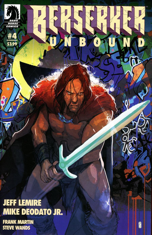 Berserker Unbound #4 Cover B Variant Christian Ward Cover