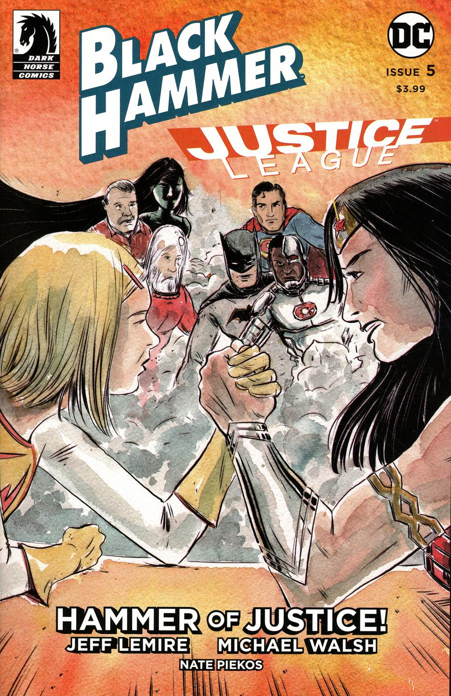 Black Hammer Justice League Hammer Of Justice #5 Cover B Variant Matt Kindt Cover