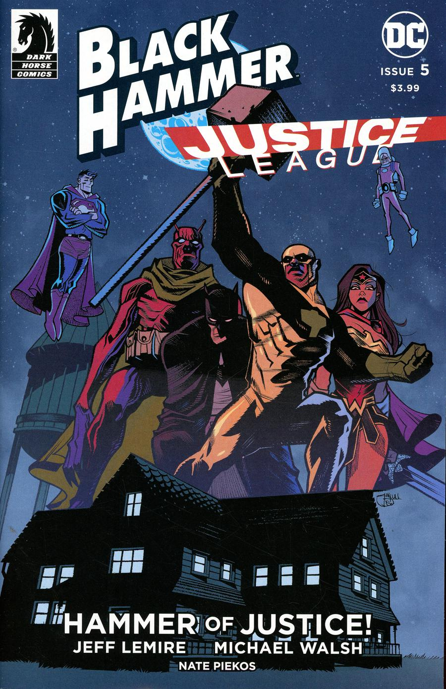 Black Hammer Justice League Hammer Of Justice #5 Cover C Variant Shawn Crystal Cover