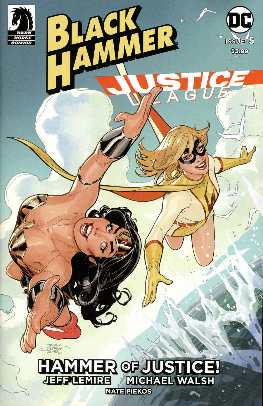 Black Hammer Justice League Hammer Of Justice #5 Cover E Variant Terry Dodson Cover
