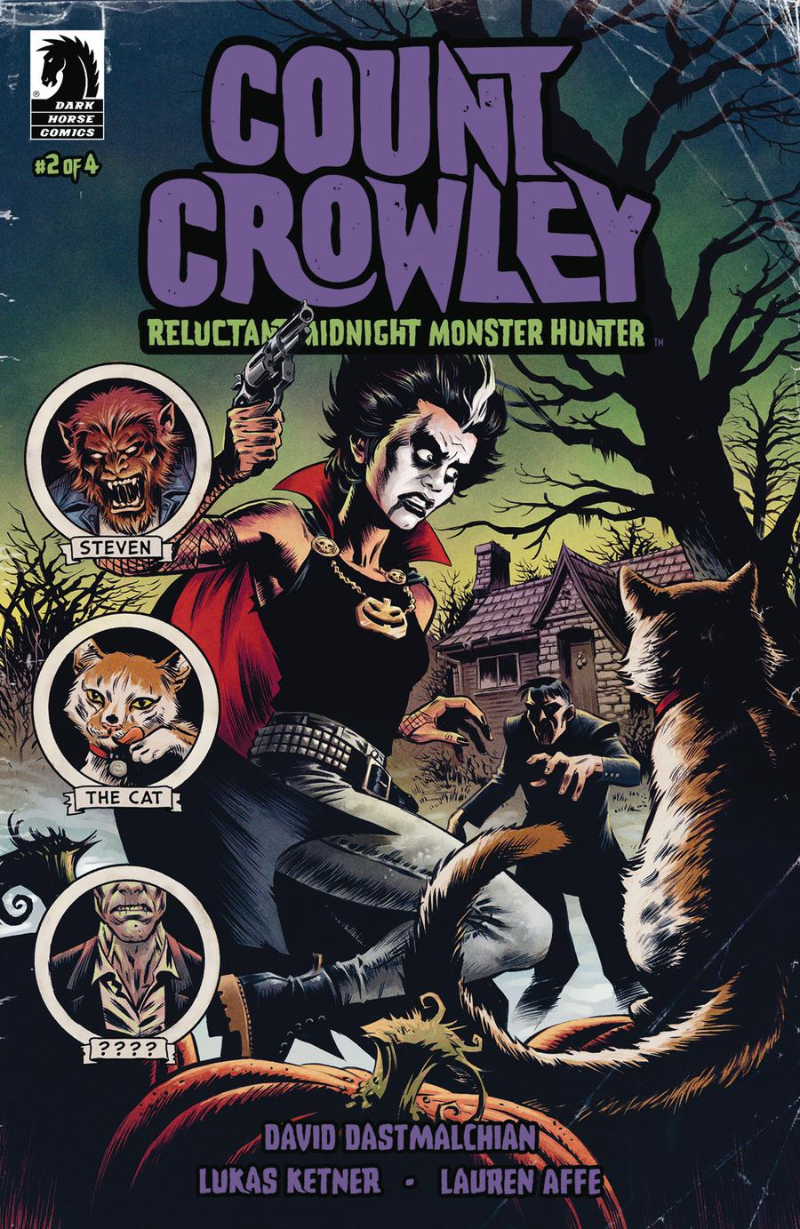 Count Crowley Reluctant Midnight Monster Hunter #2
