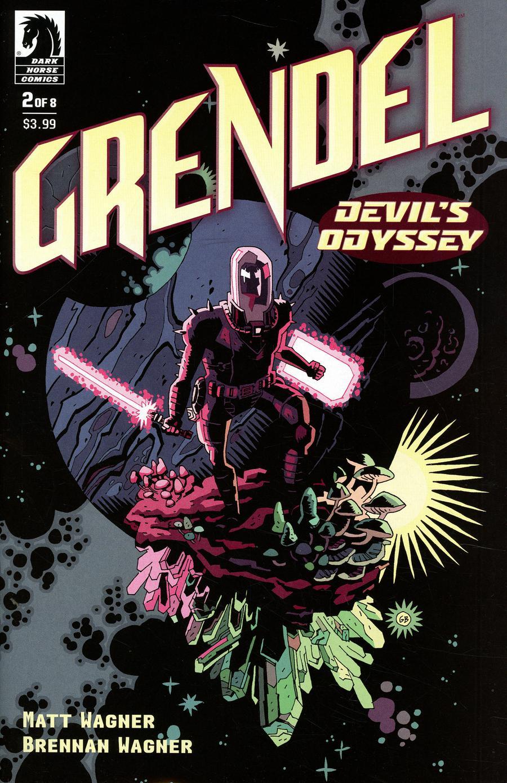 Grendel Devils Odyssey #2 Cover B Variant Gabriel Ba Cover
