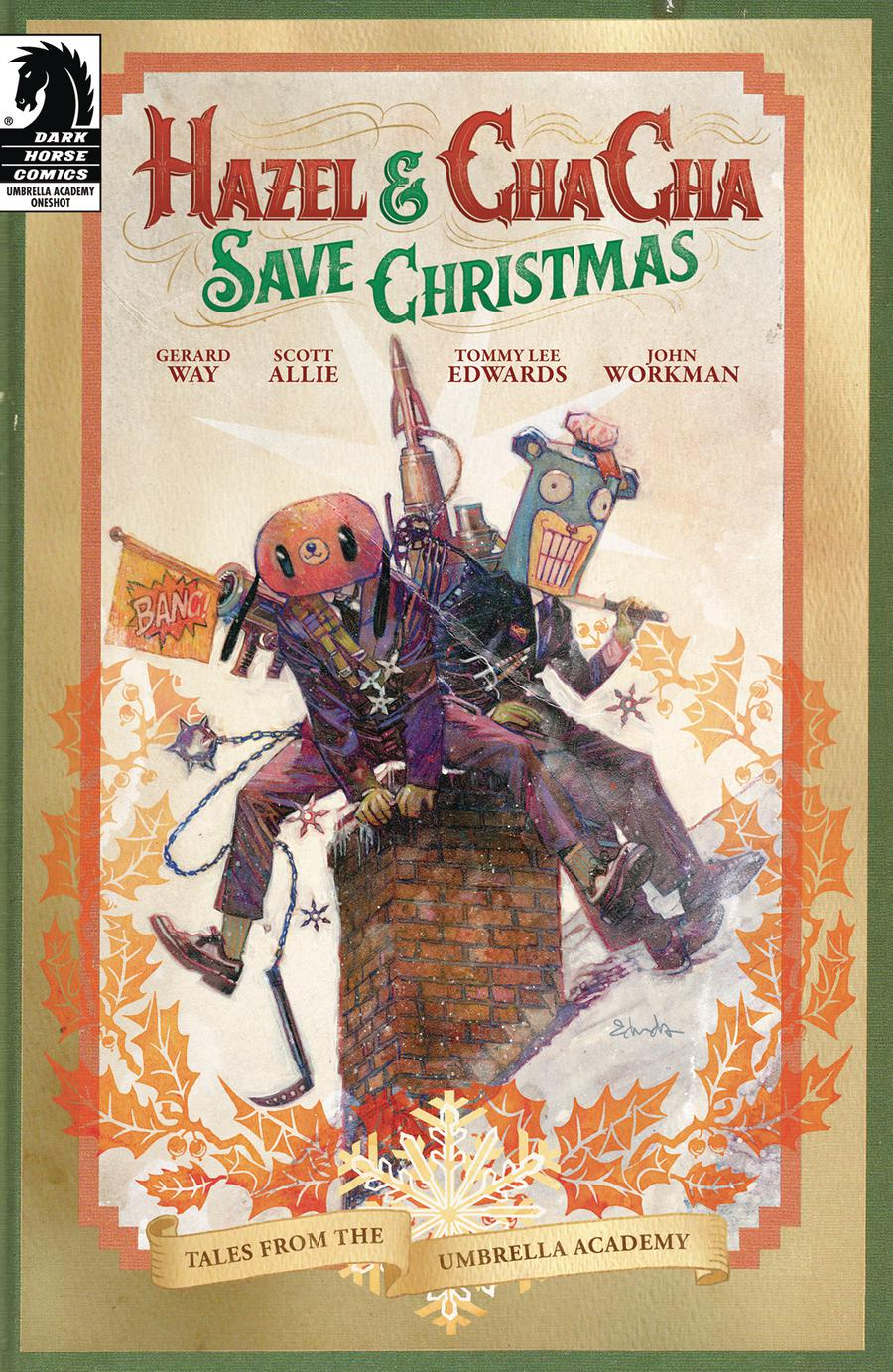 Hazel And Cha Cha Save Christmas Tales From The Umbrella Academy Cover A Regular Tommy Lee Edwards Cover