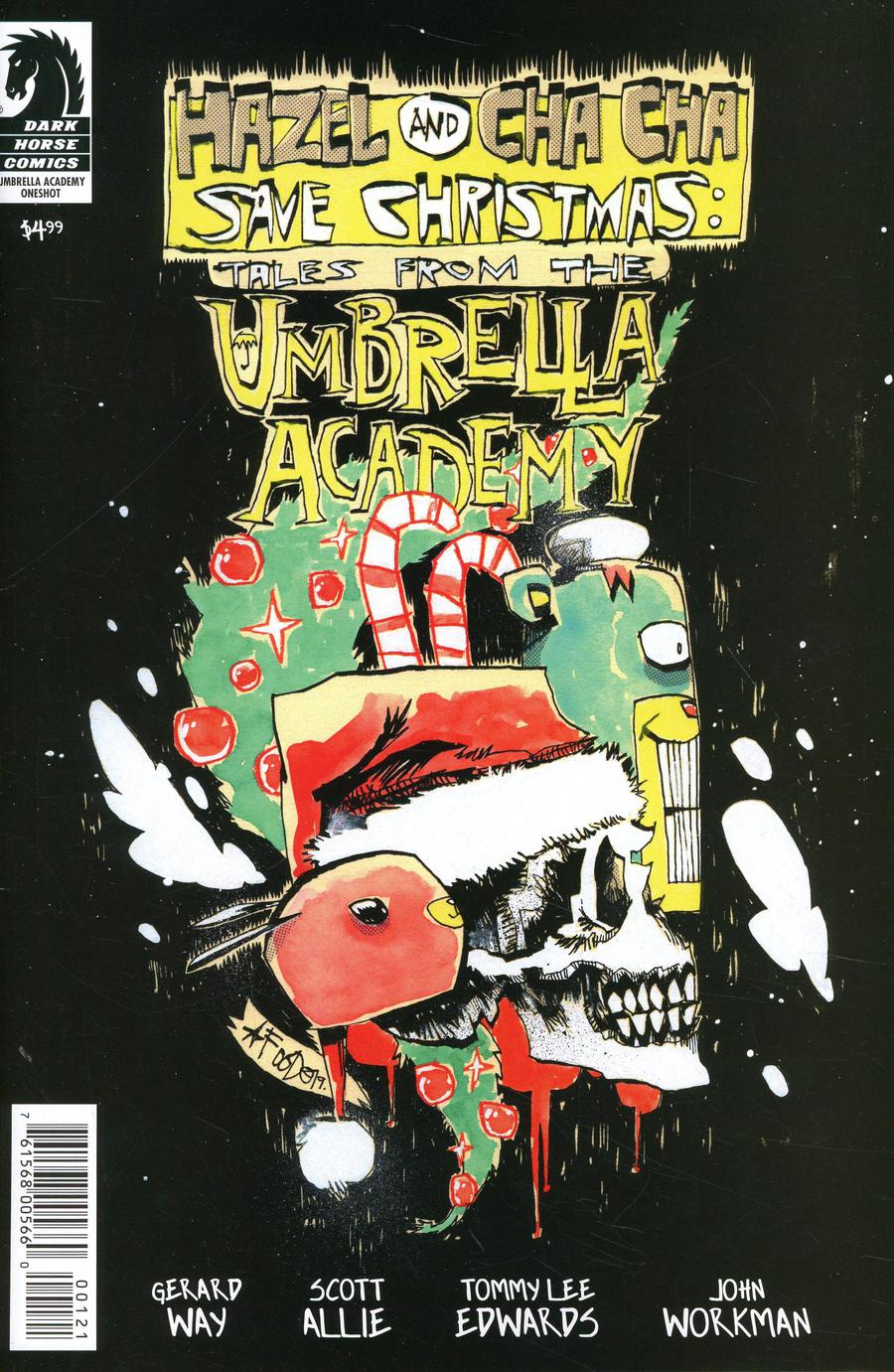 Hazel And Cha Cha Save Christmas Tales From The Umbrella Academy Cover B Variant Jim Mahfood Cover