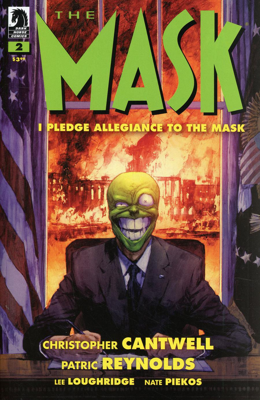 Mask I Pledge Allegiance To The Mask #2 Cover A Regular Patric Reynolds Cover