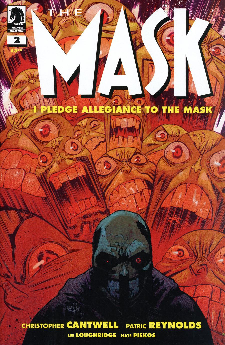 Mask I Pledge Allegiance To The Mask #2 Cover B Variant James Harren Cover