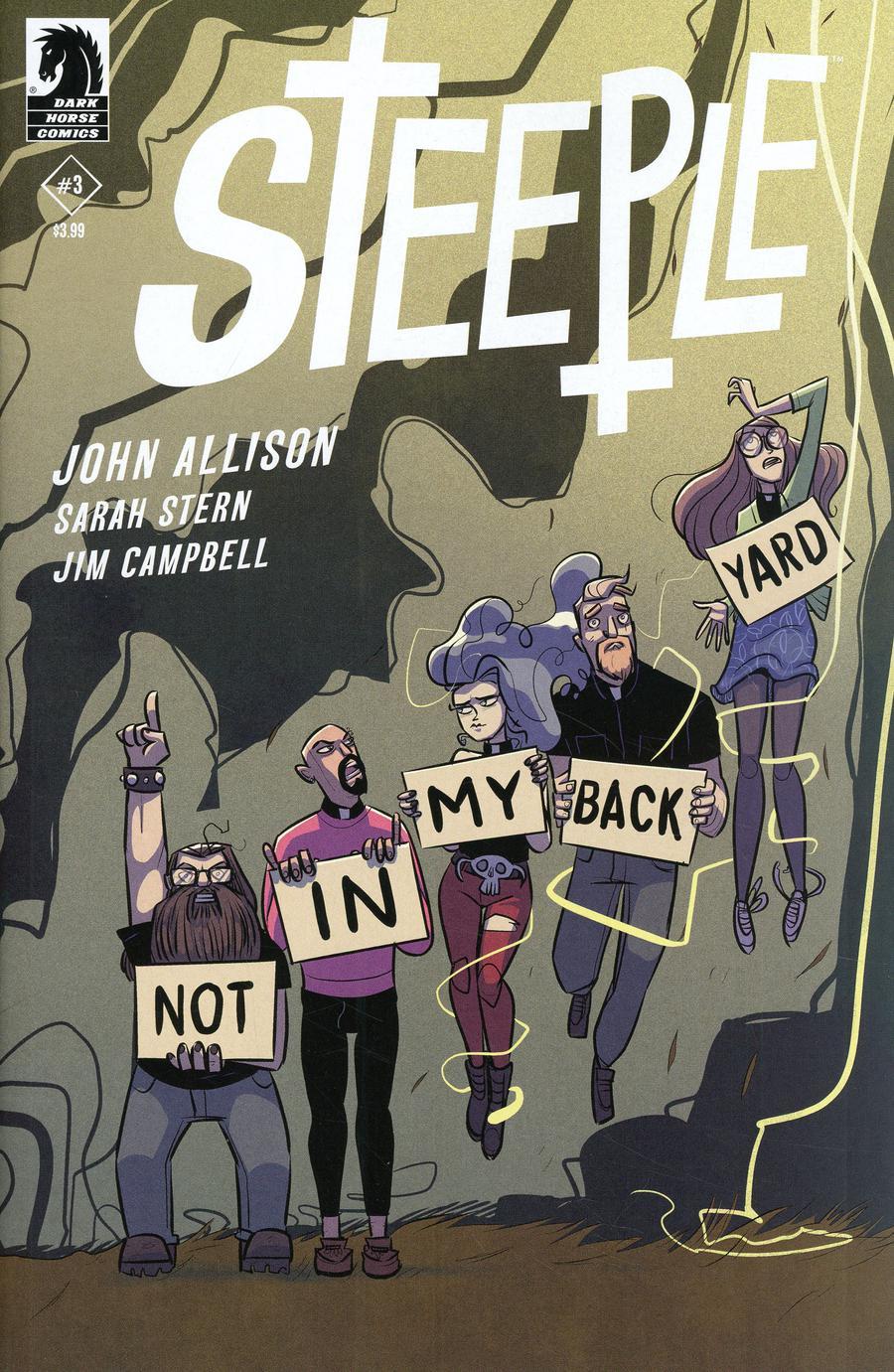 Steeple #3 Cover A Regular John Allison Cover