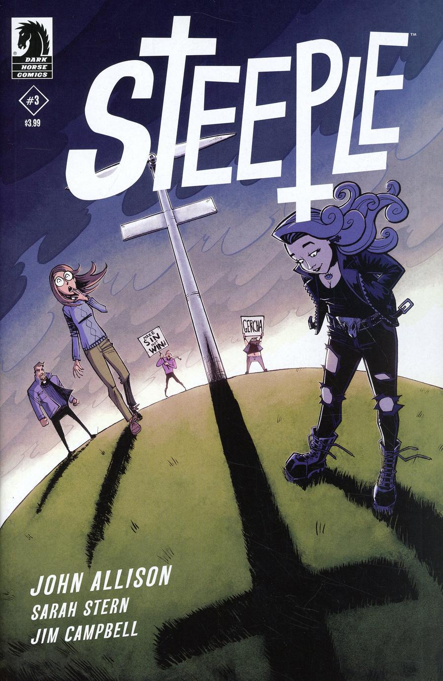 Steeple #3 Cover B Variant Nick Roche & Josh Burcham Cover