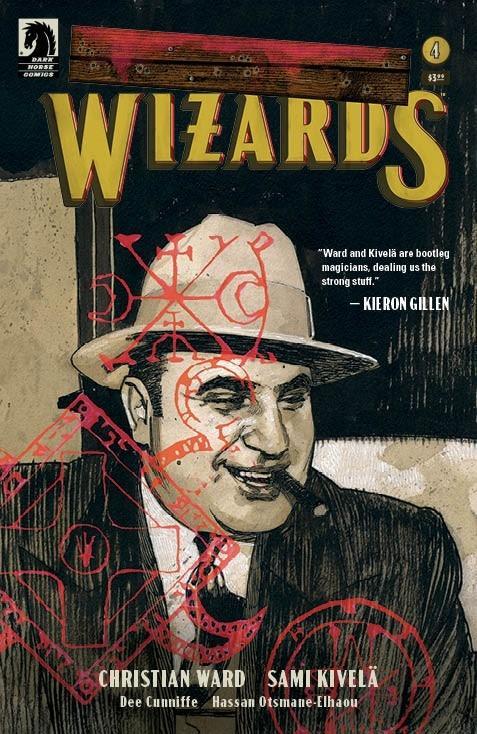 Machine Gun Wizards #4 Cover B Variant Gabriel Walta Cover