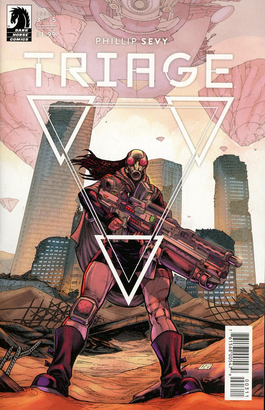 Triage #3 Cover A Regular Phillip Sevy Cover