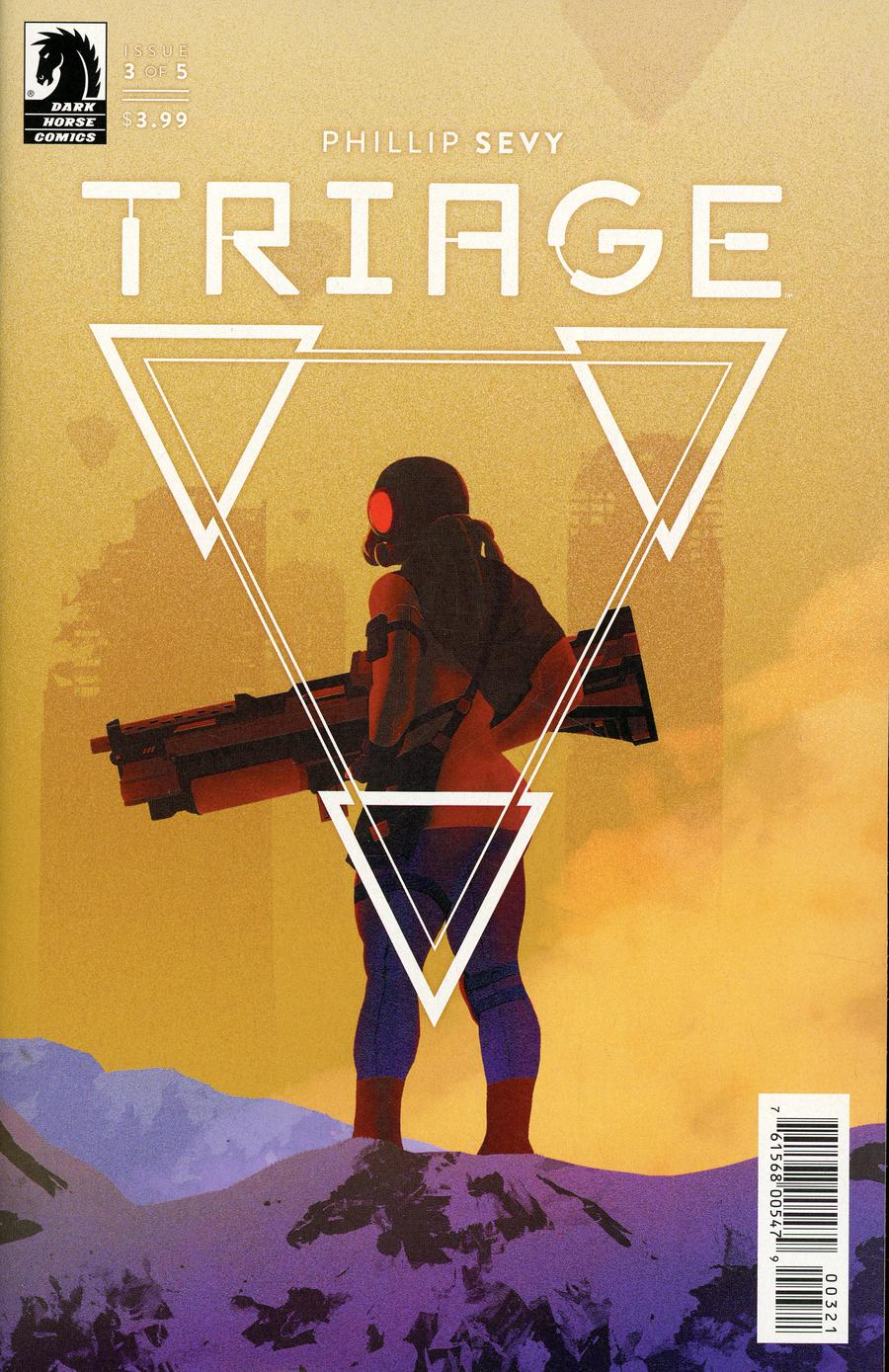 Triage #3 Cover B Variant Tyler Patrick Boss Cover