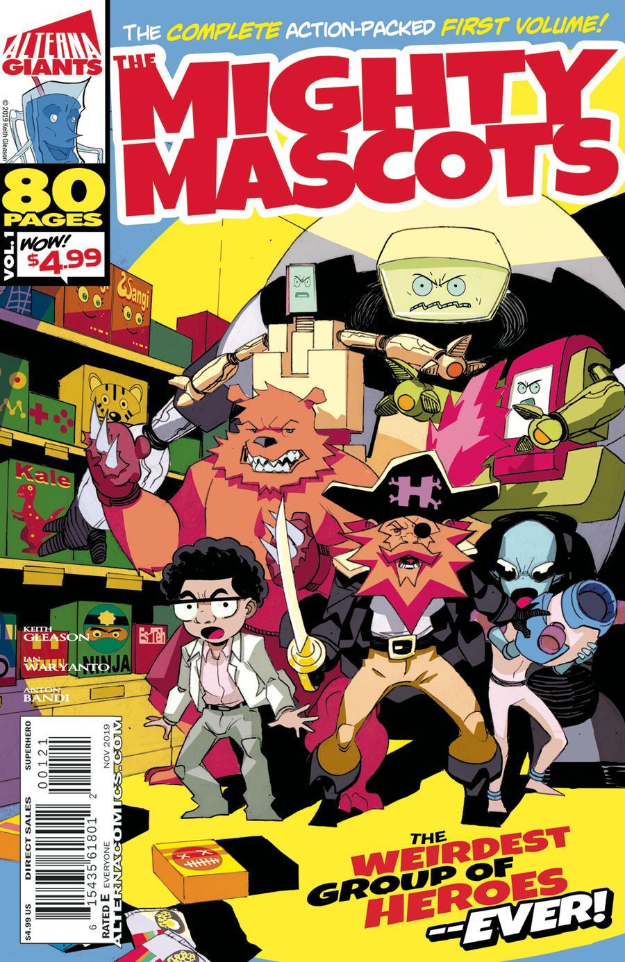Alterna Giants Mighty Mascots